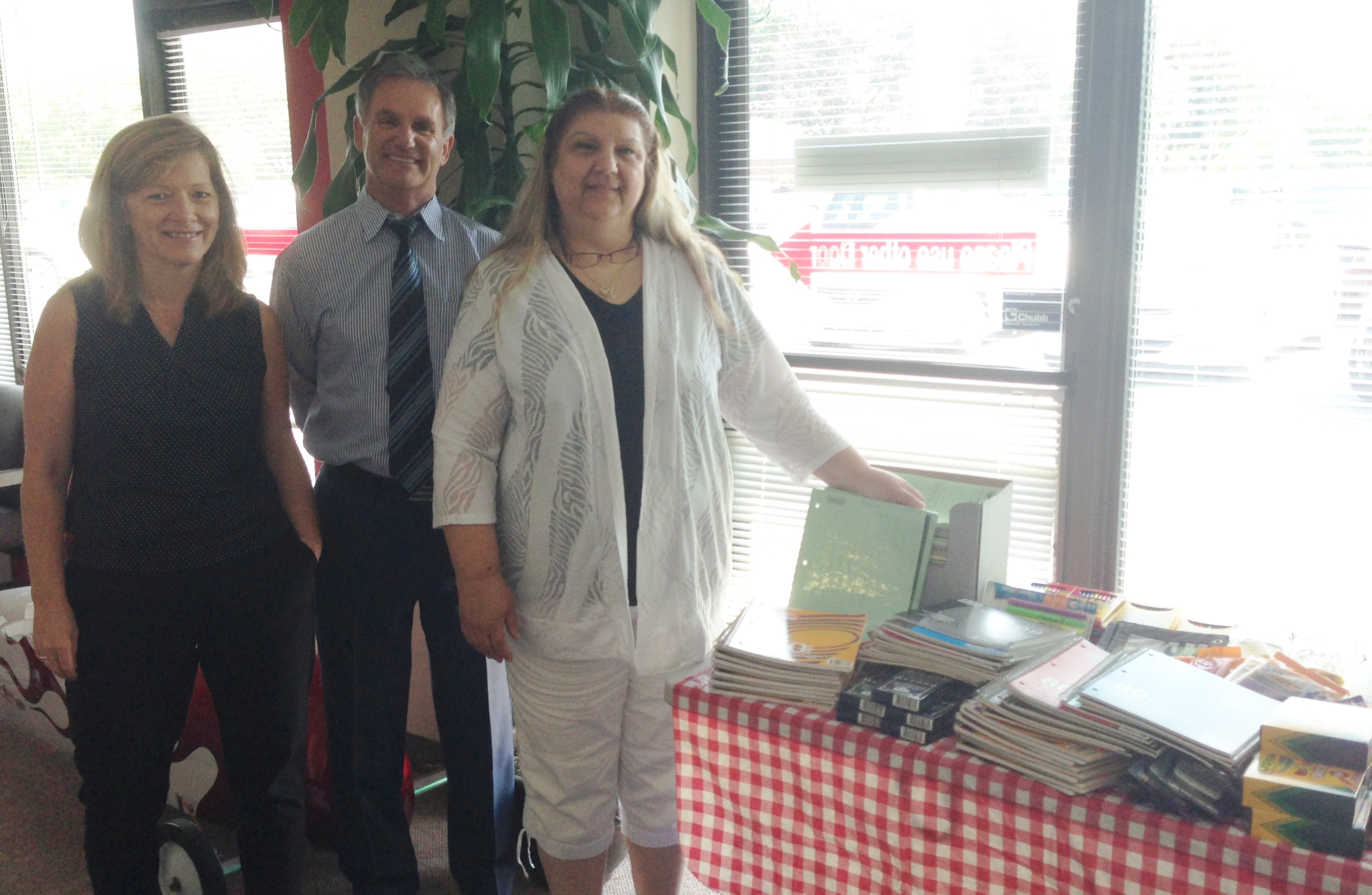 Pictured from left to right: Wanda Smith, Jim Roughley and Lisa Storey
