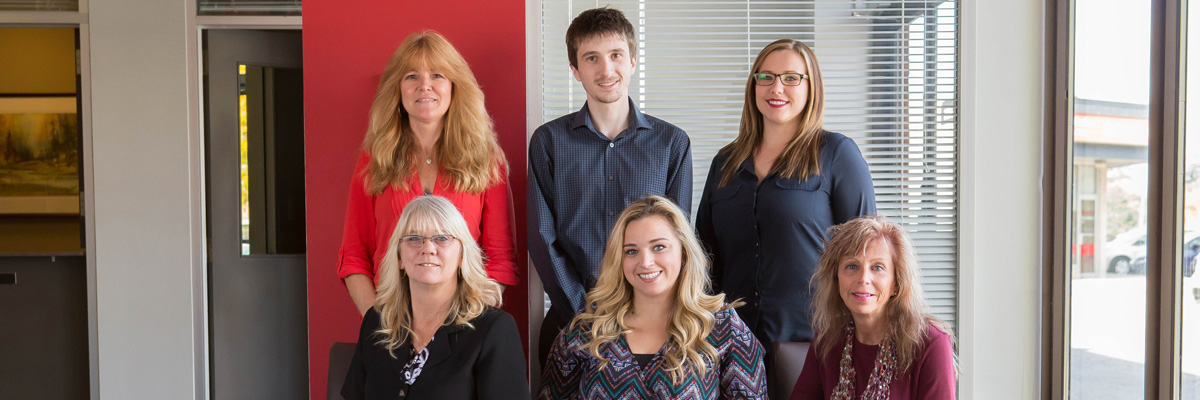 Group photo of Roughley Insurance staff
