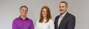 Three Roughley Insurance management team members